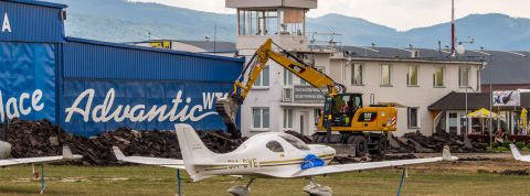 Letisko Prievidza dočasne uzavreté