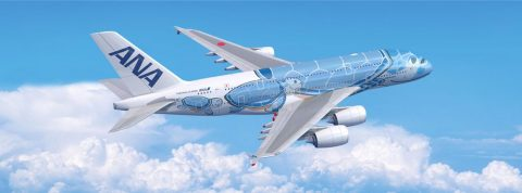 Vzlietol prvý Airbus A380 japonskej leteckej spoločnosti ANA