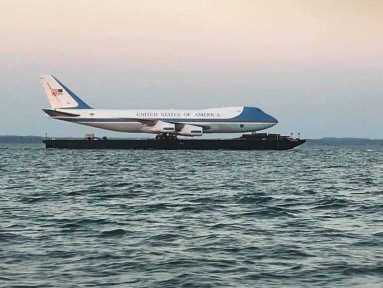 Replika Air Force One (c) Internet