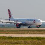 Prílet Airbusu A330 ČSA