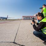 Airbus v hľadáčiku fotografov