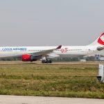 Airbus roluje popri meteoveži