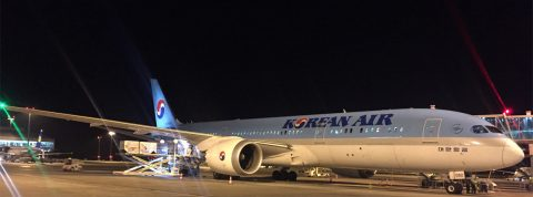 Korean Air nasadil Dreamliner na linke do Prahy