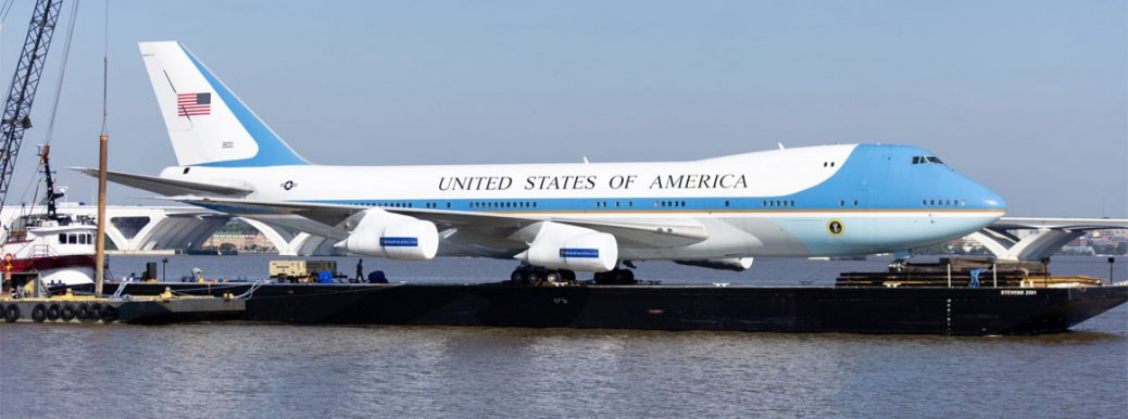 Replika Air Force One (c) WTOP/Alejandro Alvarez