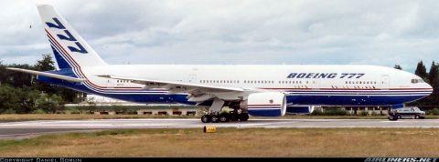 Prvý vyrobený Boeing 777 zakotvil v múzeu v Arizone