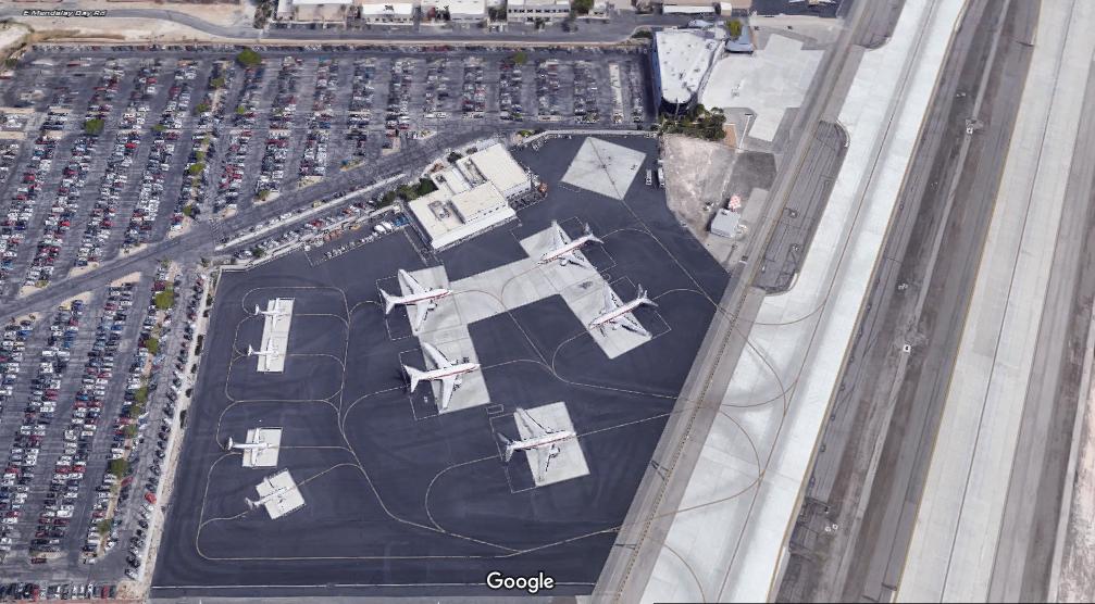 Terminál leteckej spoločnosti Janet (c) Google maps