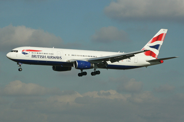 British Airways Boeing 767-300ER (c) Alan Wilson flickr.com