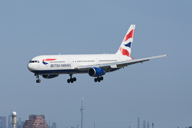 British Airways Boeing 767-300 (c) BriYYZ flickr.com