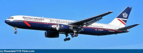 Posledné Boeingy 767 u British Airways