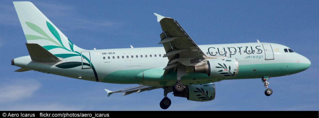 Cyprus Airways Airbus A319