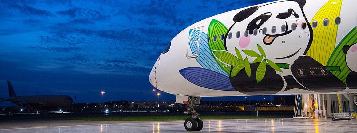 Sichuan Airline Airbus A350