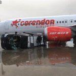 Letisko v Antalyi po zásahu tornádom