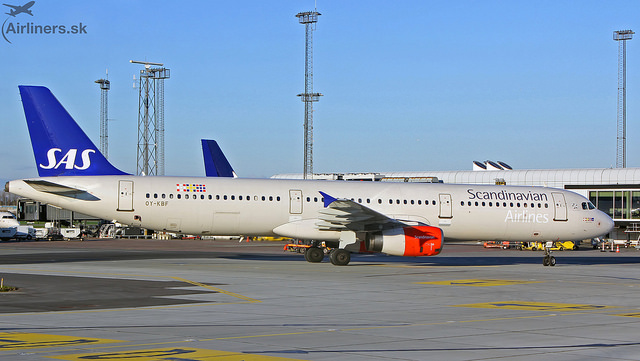 OY-KBF SAS Scandinavian Airlines Airbus A321-232