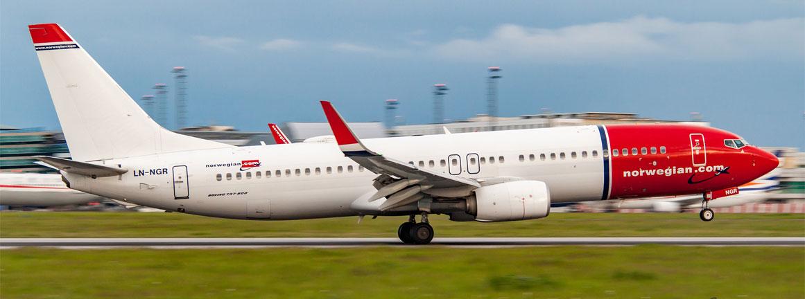 Boeing 737-800 Norwegian Air Shuttle