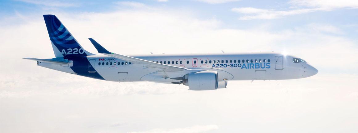 Airbus A220 (c)Airbus.com