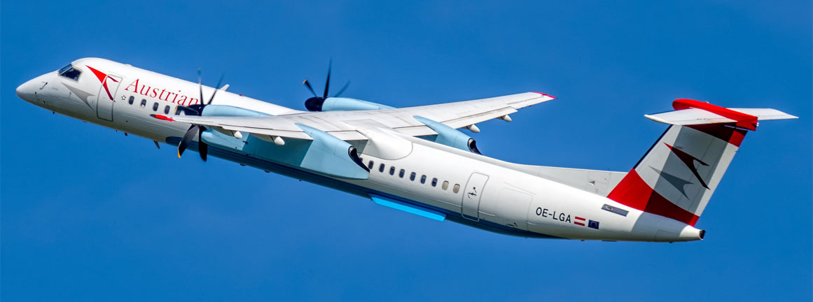 Austrian Airlines De Havilland Canada DHC-8-402Q Dash 8
