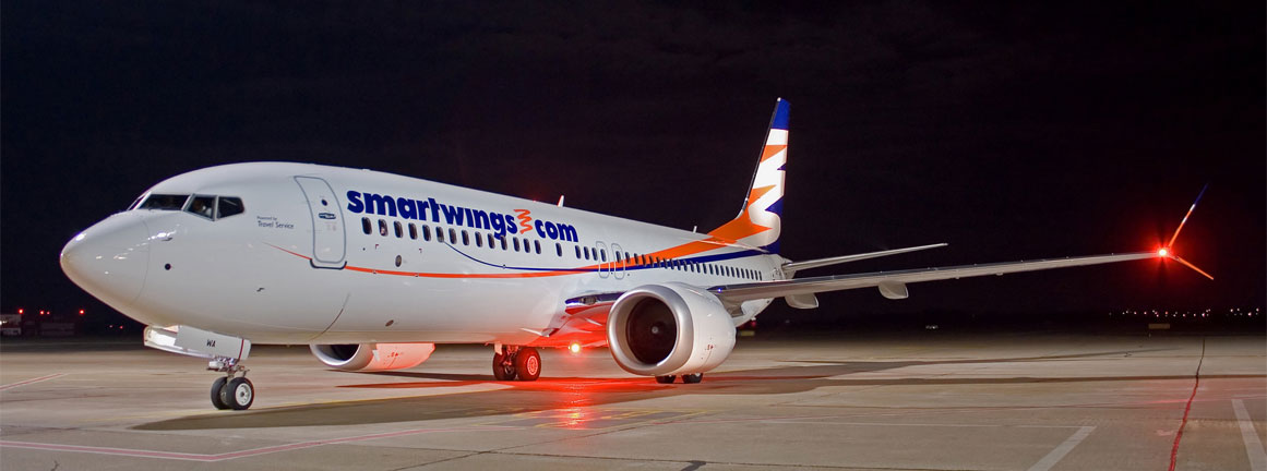 SmartWings Boeing 737 MAX8
