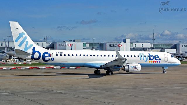 Embraer ERJ-195LR FlyBe