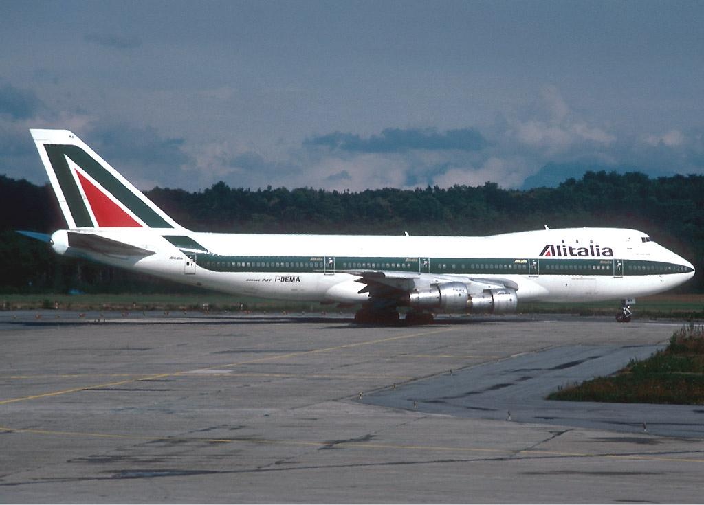 Alitalia Boeing 747-100 (c)Alain Durand