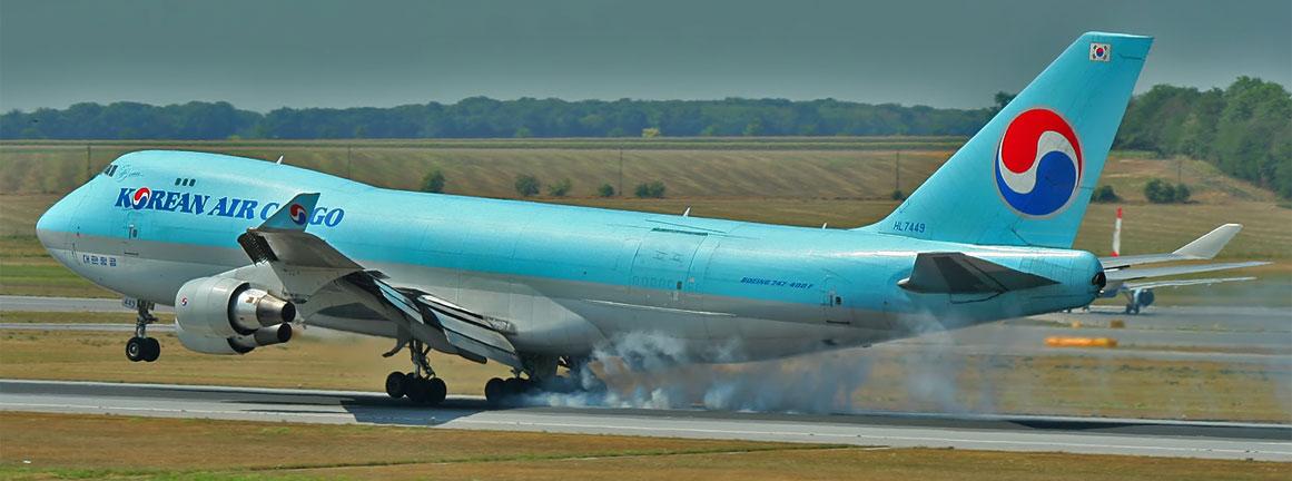 Boeing 747-400F Korean Air Lines
