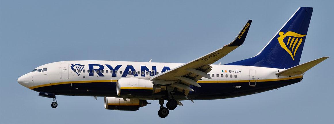 Boeing 737-700 Ryanair