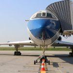 Tupolev TU154B-2 na letisku v Budapešti (c)bud.hu