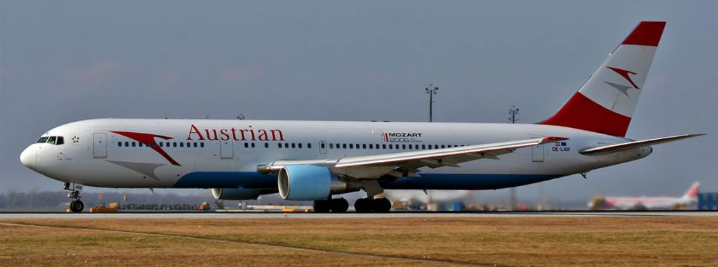 Austrian Airlines Boeing 767 OE-LAW