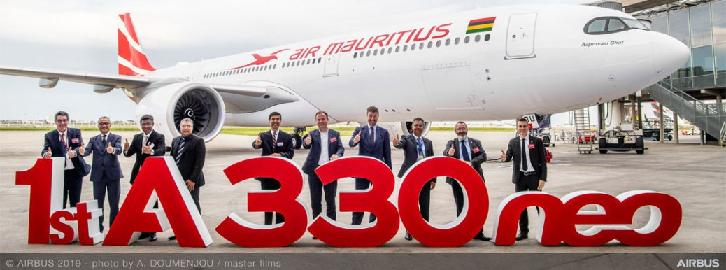 Airbus A330Neo Air Mauritius (c)Airbus.com