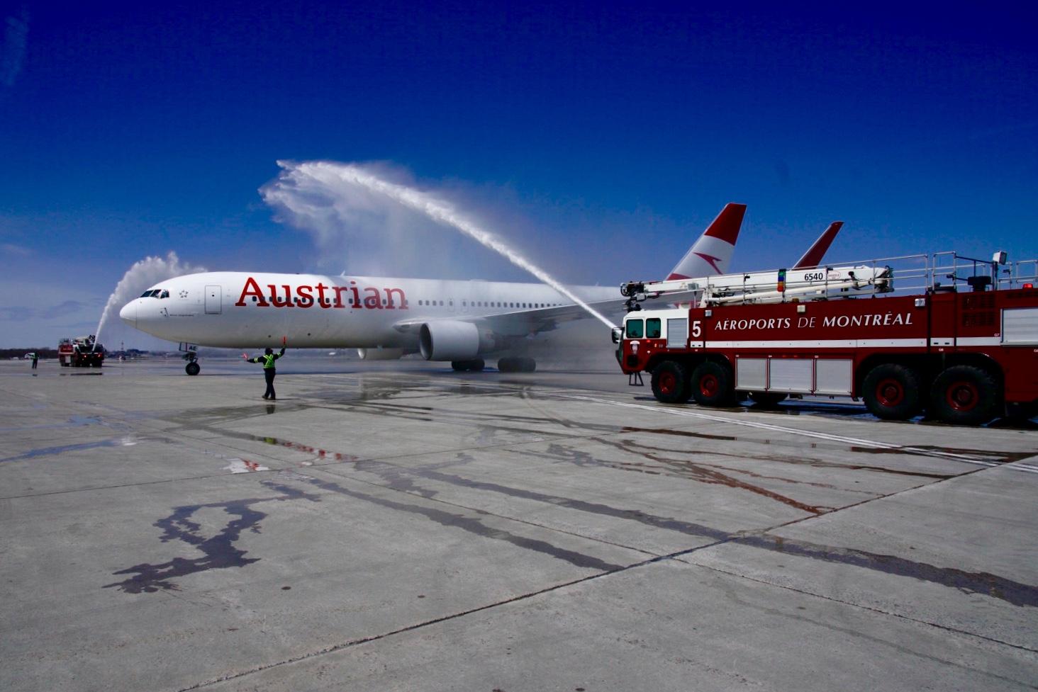 Austrian Airlines zahájili lety z Viedne do Montrealu (c) Austrian.com