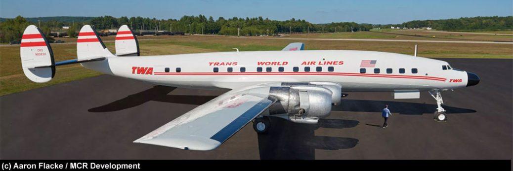 Lockheed Constellation L-1649A Starliner TWA (c)Aaron Flacke / MCR Development