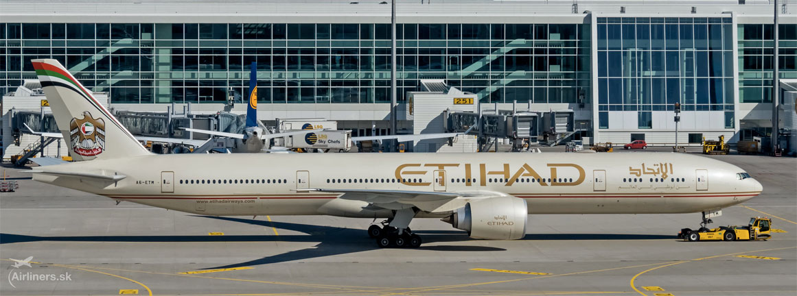 Boeing 777-300ER Etihad Airways