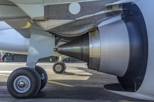 Detail motoru Airbusu A320Neo