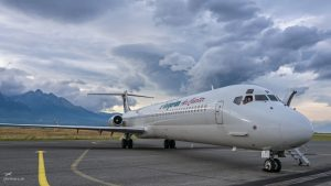 LZ-LDU Bulgarian Air Charter McDonnell Douglas MD-82