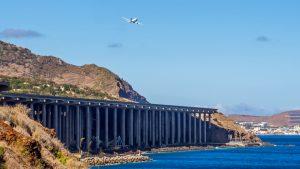 Runway at Funchal Airport
