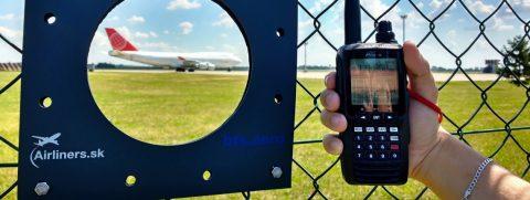 Letecká rádiostanica – Yaesu FTA550L