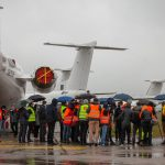 Tlačová konferencia ministra dopravy ndreja Doležala na letisku v Bratislave