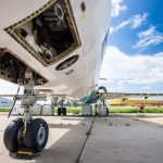 Fokker 100 Austrian Airlines OE-LVJ