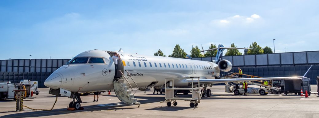 CRJ-900LR Lufthansa Cityline