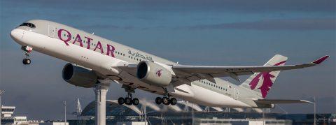 Airbus A350 Qatar Airways