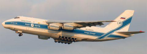 Antonov An124-100, RA-82044 Volga-Dnepr