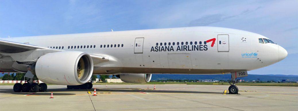 Asiana Boeing 777