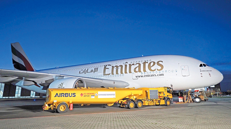 Airbus A380 Emirates (c)tellerreport.com