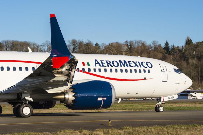 Boeing 737 MAX, Aeromexico (c)Boeing