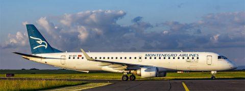 Montenegro Airlines Embraer ERJ-195LR