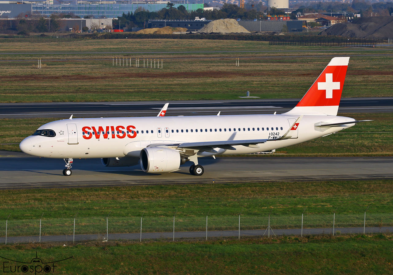 Airbus A320neo Swiss © Eurospot
