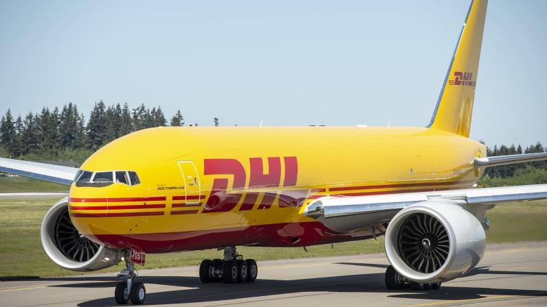 Boeing 777F DHL (c)dhl.com