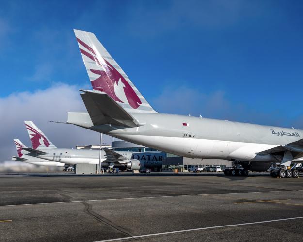 Boeing 777F Qatar Airways Cargo (c)worldairlinenews.com