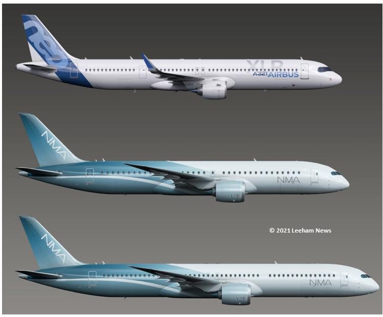 Boeing New Midmarket Airplane (c)leeham news