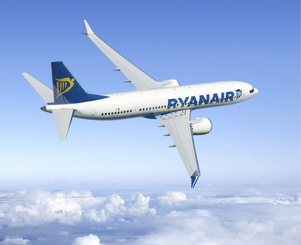 Ryanair Boeing 737 MAX 200 (c)ryanair.com