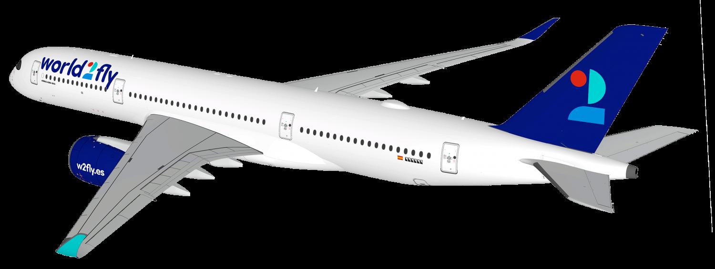 Airbus A350 World2Fly (c)w2fly.es